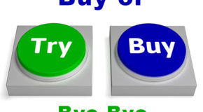 Try Buy Buttons Shows Trying Or Buying